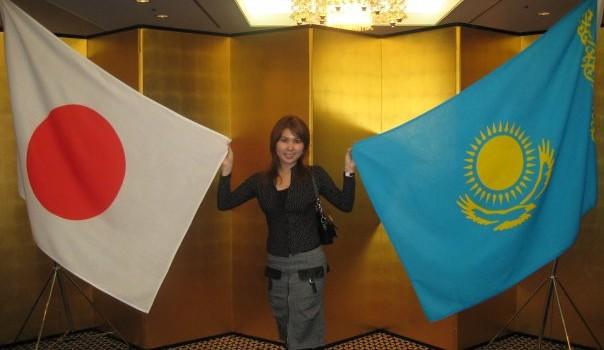 Akmarzhan Kasmaganbetovaさん